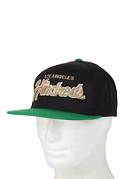 THE HUNDREDS Team Two Snapback Cap black