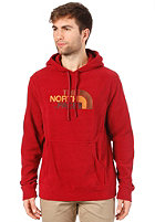 THE NORTH FACE  100 Drewpeak Pull Hooded Sweat gush red