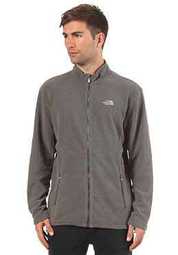 THE NORTH FACE 100 Glacier Full Zip Fleece grape grey heather