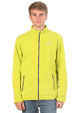 THE NORTH FACE  100 Glacier Full Zip Fleece sublime green