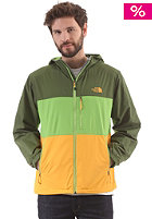 THE NORTH FACE Atmosphere Jacket scallion green/tree frog green/zinnia orange