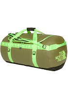 THE NORTH FACE Base Camp Duffel Bag Large burnt olive/ safety green