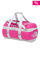 THE NORTH FACE Base Camp Duffel Bag Small fuschia pink/high rise grey