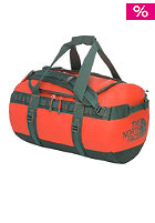 THE NORTH FACE Base Camp Duffel Bag Small spicy orange/dark sage green