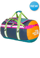 THE NORTH FACE Base Camp Duffel Bag Small storm blue/cone orange