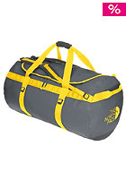 THE NORTH FACE  Base Camp Duffel Bag XL 2012 asphalt grey/leopard yellow