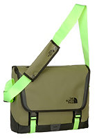 THE NORTH FACE BC Messenger M Bag burnt olive green/safety green