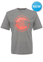 THE NORTH FACE Cicle Logo Reaxion S/S T-Shirt charcoal grey heather