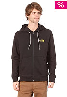 THE NORTH FACE  Classic Full Hooded Zip Sweat 2011 tnf black/sulphur spring green