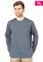THE NORTH FACE  Classic Logo L/S Shirt conquer blue