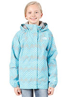 THE NORTH FACE Dottie Resolve Jacket turquoise blue print