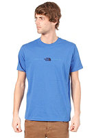 THE NORTH FACE Embroidered Logo S/S T-Shirt nautical blue