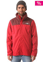 THE NORTH FACE Evolve II Triclimate Jacket rage red/cherry stain brown