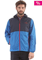 THE NORTH FACE Flyweight Hooded Jacket drummer blue/cosmic blue
