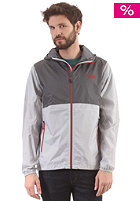 THE NORTH FACE Flyweight Hooded Jacket high rise grey/vanadis grey