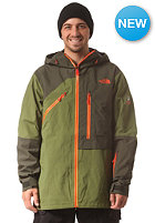 THE NORTH FACE Free Thinker Snow Jacket forest night green