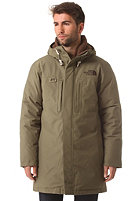 THE NORTH FACE Himalayan Long Parka Jacket burnt olive green