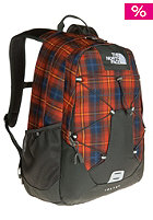 THE NORTH FACE  Jester Backpack 2012 red clay plaid