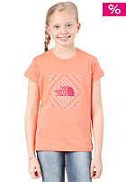 THE NORTH FACE Kids Dots in The Box S/S T-Shirt electro coral orange