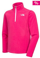 THE NORTH FACE Kids Glacier 1/4 Full Zip Fleece Jacket passion pink