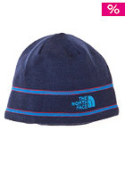 THE NORTH FACE  Logo Beanie deep water blue