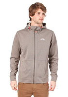 THE NORTH FACE Mittellegi Hooded Zip Sweat coffee brown heather