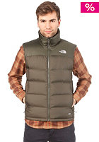 THE NORTH FACE  Nuptse 2 Vest Jacket fig green-fig green