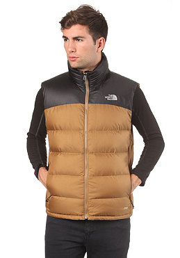 THE NORTH FACE Nuptse 2 Vest Jacket utility brown tnf black