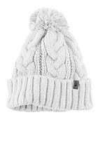 THE NORTH FACE  Rigsby Pompom Beanie tnf white