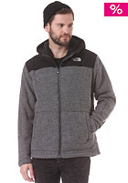 THE NORTH FACE Rugged Zermat Knit Zip Hooded Jacket heather grey/tnf black