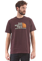 THE NORTH FACE Rust S/S T-Shirt fudge brown