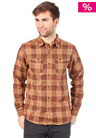 THE NORTH FACE Take L/S Flannel Shirt utility brown