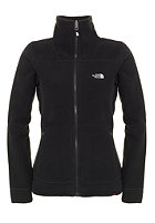 THE NORTH FACE Womens 200 Shadow Full Zip Fleece Jacket tnf black