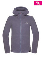 THE NORTH FACE Womens 200 Shadow Hooded Zip Sweat greystone blue