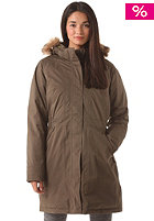 THE NORTH FACE Womens Arctic Parka Jacket black ink green