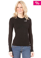 THE NORTH FACE Womens Base Layer Hybrid Merino L/S Crew Neck Shirt tnf black