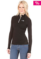 THE NORTH FACE Womens Base Layer Hybrid Merino L/S Zip Neck Shirt tnf black