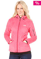 THE NORTH FACE Womens Cervinja Hooded Zip Sweat teaberry pink