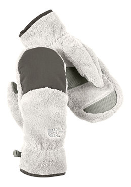 THE NORTH FACE Womens Denali Thermal Mitt Glove moonlight ivory