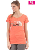 THE NORTH FACE Womens Easy S/S T-Shirt miami orange
