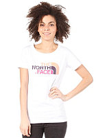 THE NORTH FACE Womens Easy S/S T-Shirt tnf white/fuschia pink