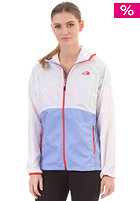 THE NORTH FACE Womens Flyweight Hooded Jacket lavendula purple/tnf white