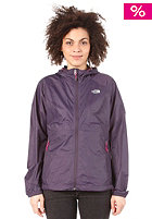 THE NORTH FACE Womens Flyweight Hoodie Jacket grand purple