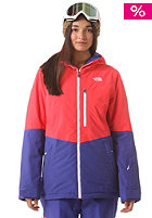 THE NORTH FACE Womens Gonza Snow Jacket rambutan pink/tech blue