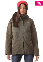 THE NORTH FACE Womens Inlux Insulated Jacket new taupe green