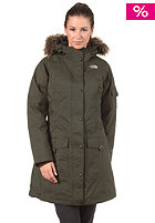 THE NORTH FACE Womens Ins Juneau Jacket fig green