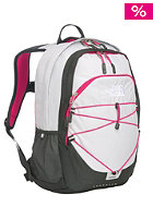 THE NORTH FACE Womens Isabella Backpack high rise grey/tnf black