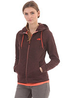 THE NORTH FACE Womens Kutum Hooded Zip Sweat fudge brown heather