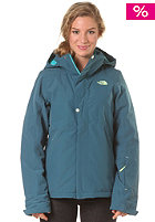 THE NORTH FACE Womens Lauberhorn Jacket prussian blue