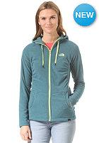 THE NORTH FACE Womens Mezzaluna Full Zip Jacket prussian blue stripe